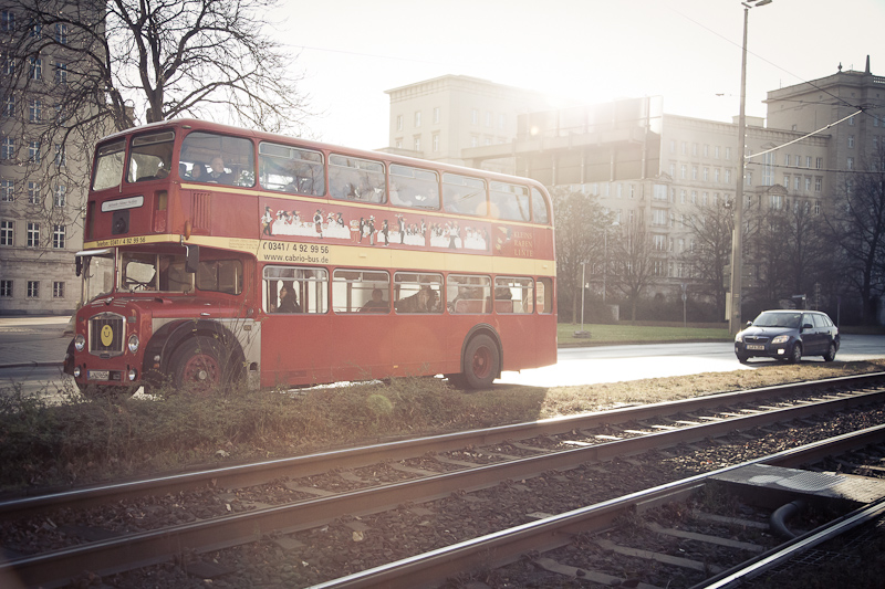Leipzig Doppelstockbus