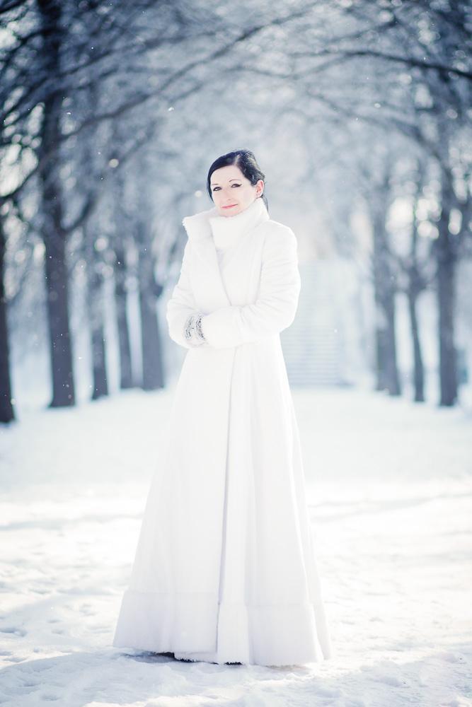 Fashionshooting Wintermantel