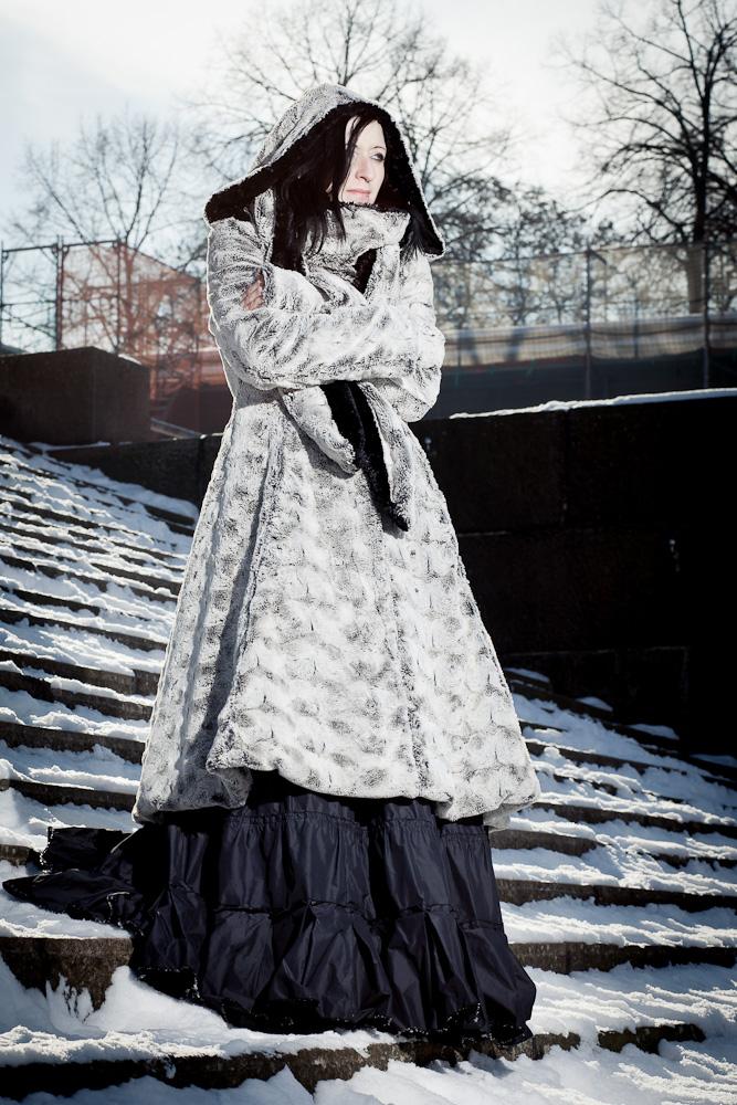 Fashionfoto Wintermantel