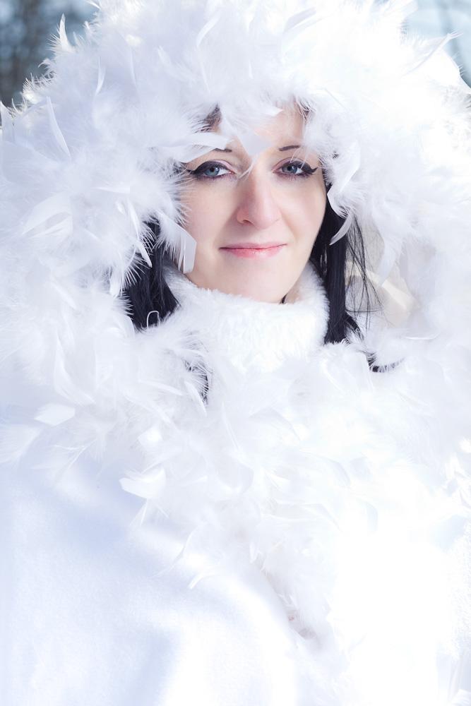 Portrait im Winter