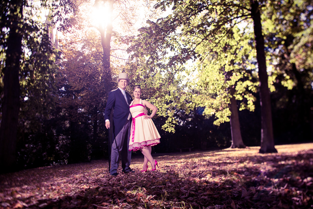 Hochzeitsshooting im Herbst