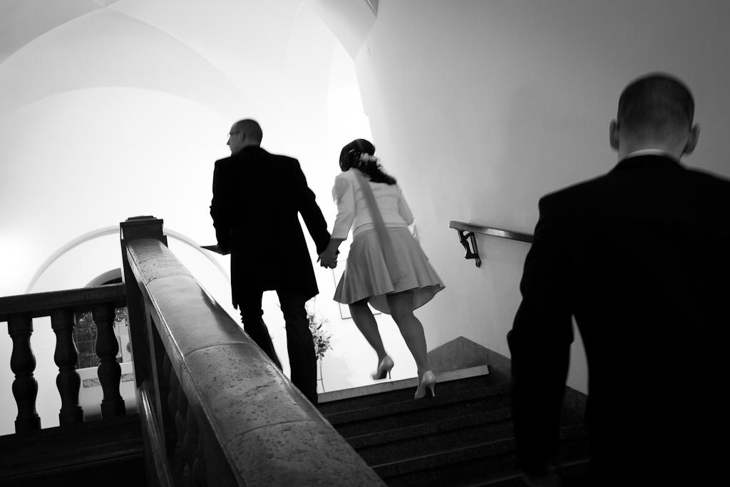 Treppe Standesamt Leipzig