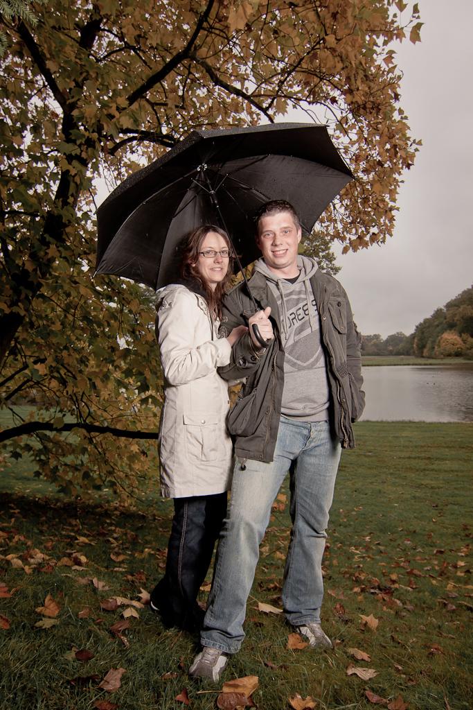 Wörlitz im Regen