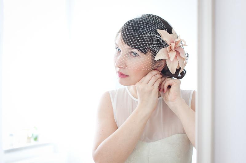 Hochzeitsvorbereitung Braut